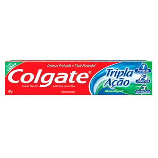 CREME DENTAL COLGATE TRIPLA 90GR