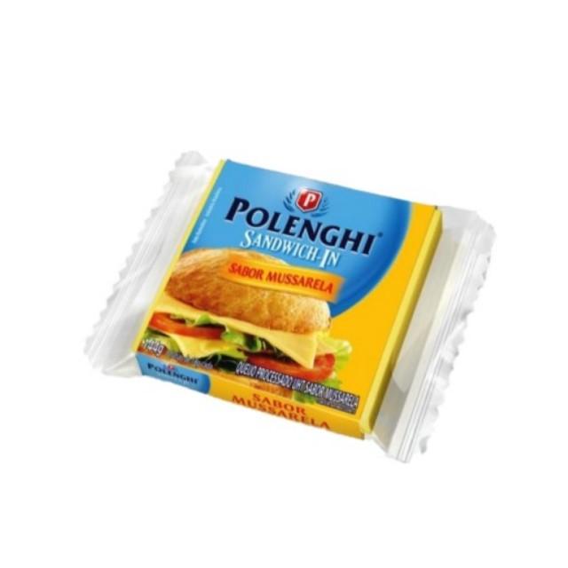 QUEIJO PROCESSADO SANDWICH-IN MUSSARELA  POLENGHI 144G
