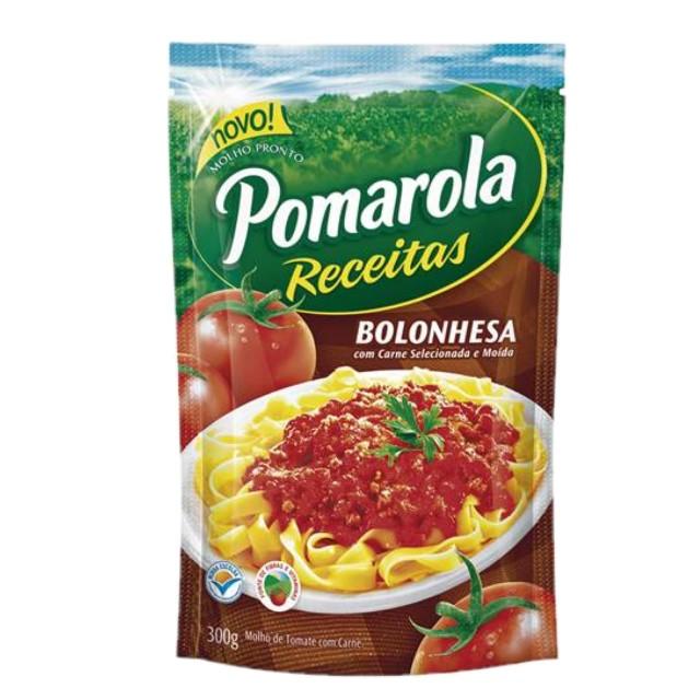 MOLHO POMAROLA BOLONHESA 300GR