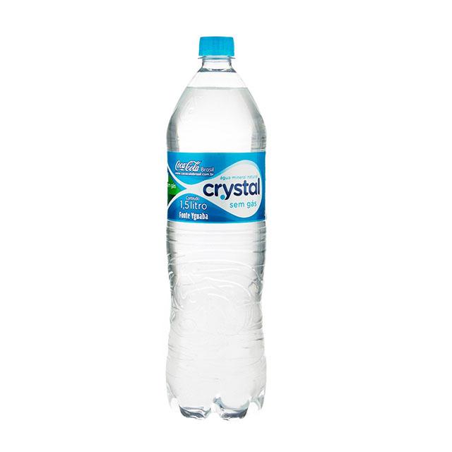 AGUA CRYSTAL SEM GAS 1,5L