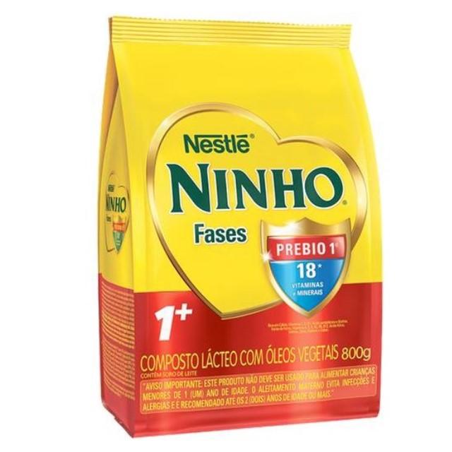 COMPOSTO LACTEO NINHO 1 PREBIO 01 FASES800G