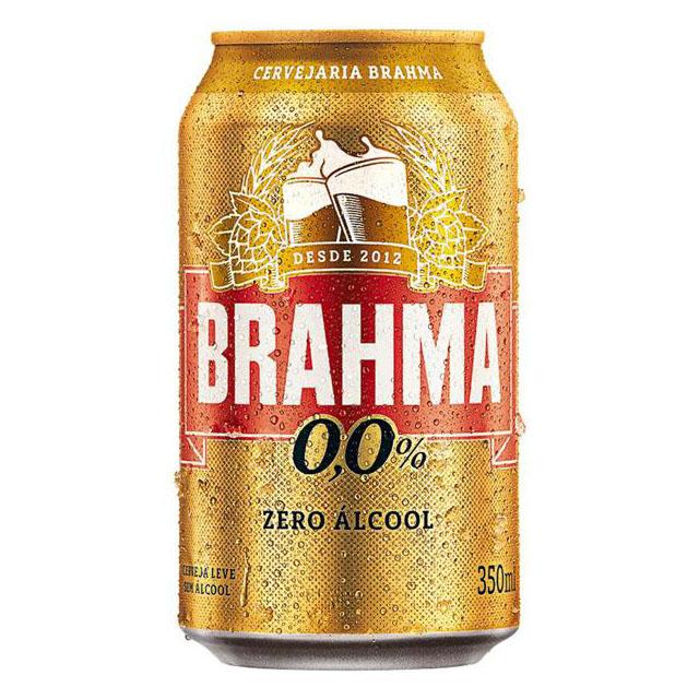 CERVEJA BRAHMA CHOPP ZERO 350ML
