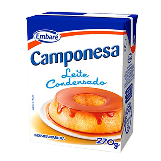 LEITE CONDENSADO CAMPONESA 270G