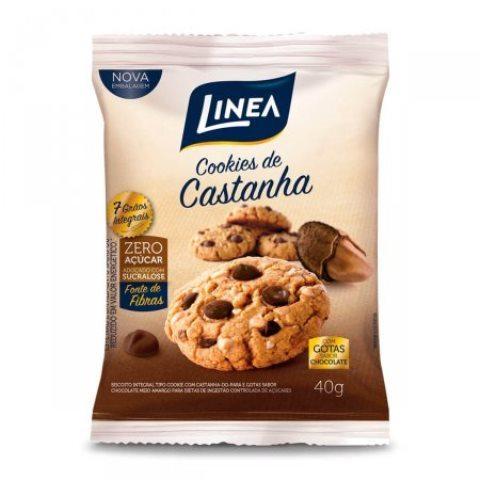 BISCOITO COOKIES CASTANHA PARA LINEA 40G
