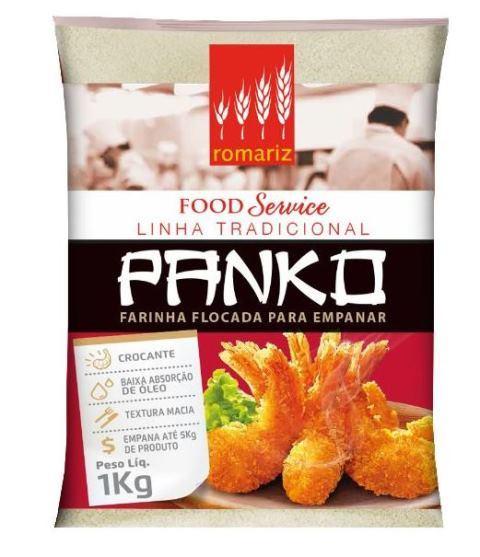 FARINHA PANKO ROMARIZ PACOTE 1KG