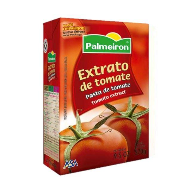EXTRATO TOMATE PALMEIRON TETRA PACK 270G