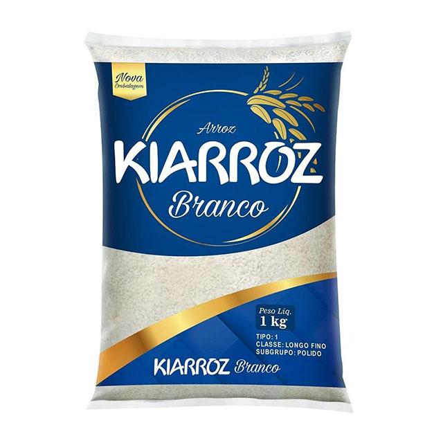 ARROZ BRANCO KIARROZ TIPO 1 1KG