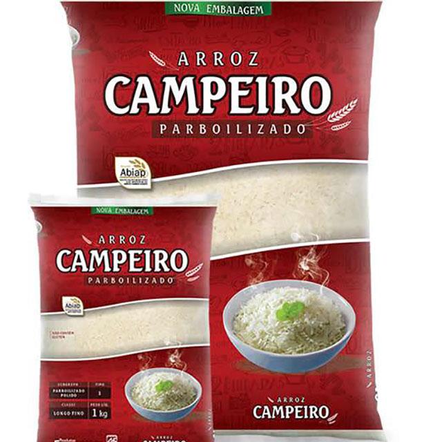 ARROZ PARBOILIZADO CAMPEIRO 1KG
