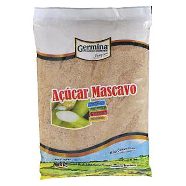 ACUCAR MASCAVO GERMINA 1KG