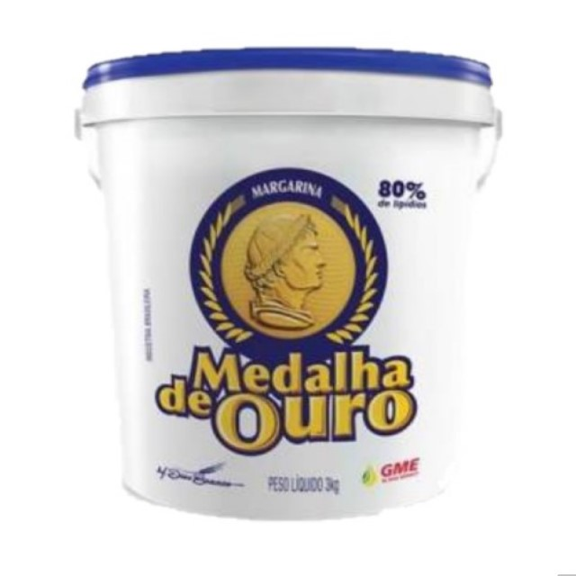 MARGARINA MEDALHA DE OURO BALDE 15KG