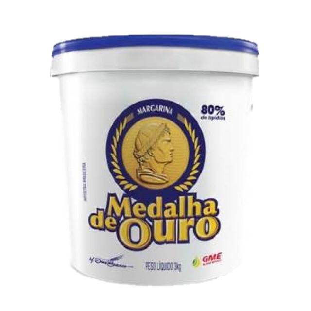 MARGARINA MEDALHA DE OURO BALDE 3KG