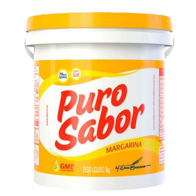 MARGARINA PURO SABOR 3KG