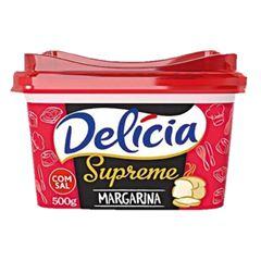 MARGARINA COM SAL DELÍCIA SUPREME 500G