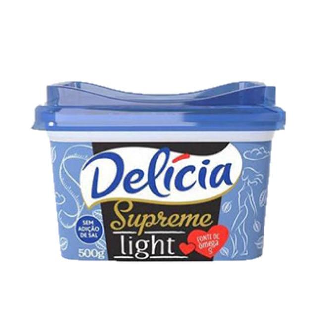 CREME VEGETAL DELÍCIA SUPREME LIGHT 500G