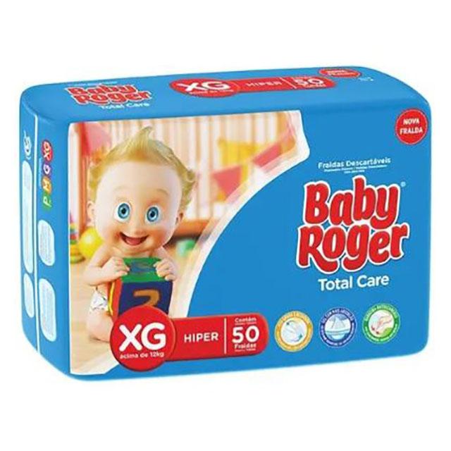 FRALDA  DESCARTAVEL BABY ROGER HIPER PLUS XG
