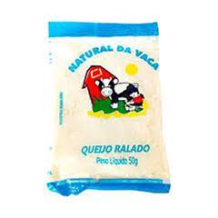 QUEIJO RALADO NATURAL DA VACA PACOTE 50G