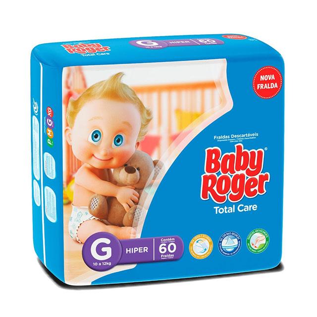 FRALDA  DESCARTAVEL BABY ROGER HIPER G