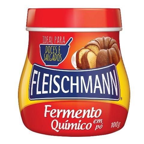 FERMENTO QUÍMICO PÓ FLEISCHMANN 100G