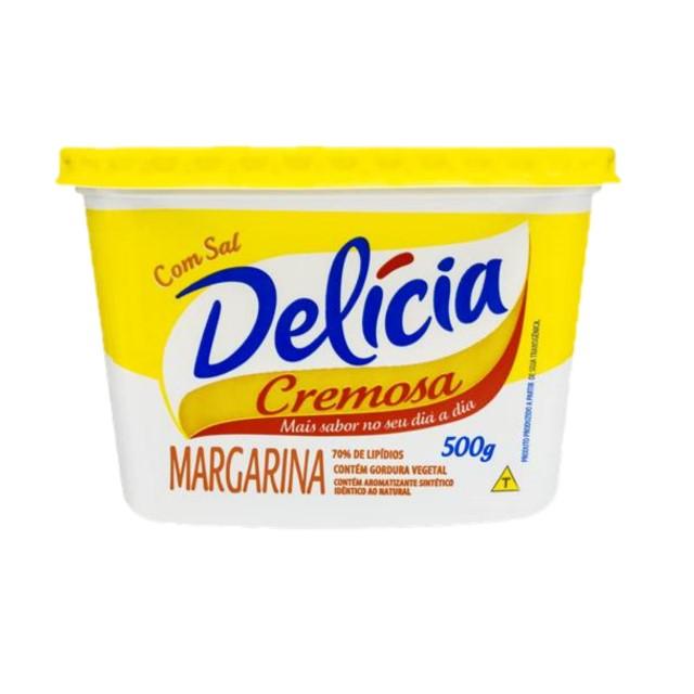 MARGARINA DELÍCIA CREMOSA COM SAL 500G