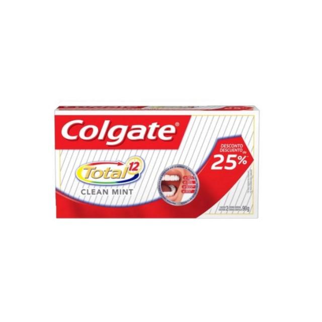 CREME DENTAL COLGATE T12 CLEA MINT 25% OFF