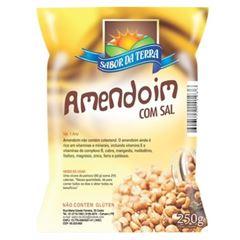AMENDOIM GRÃO SABOR DA TERRA 250G