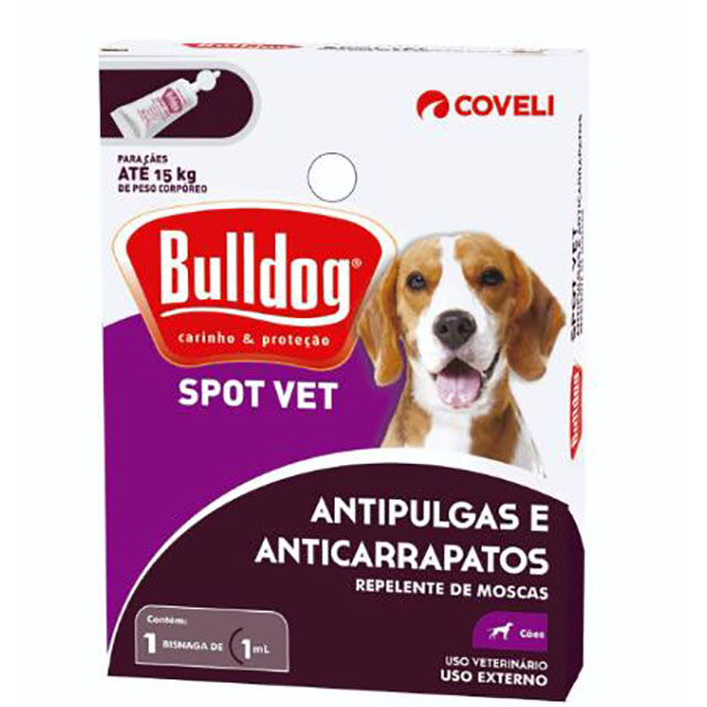 CARRAPATICIDA BULLDOG BISNAGA 1ML
