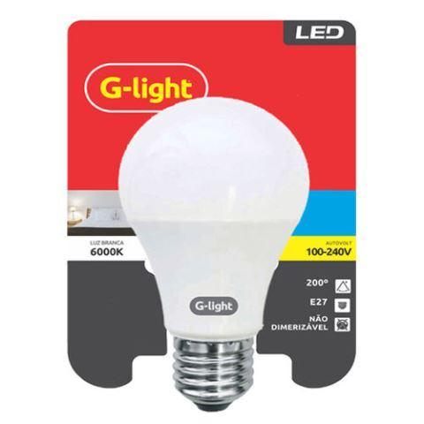 LAMPADA LED G-LIGHT 9W E27 6500K