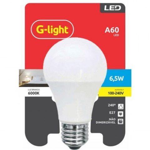 LAMPADA LED G-LIGHT 6,5W E27 6500K