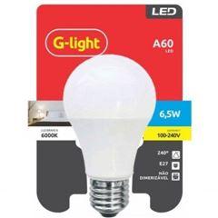 LÂMPADA DE LED GLIGHT 6.5W 6500K