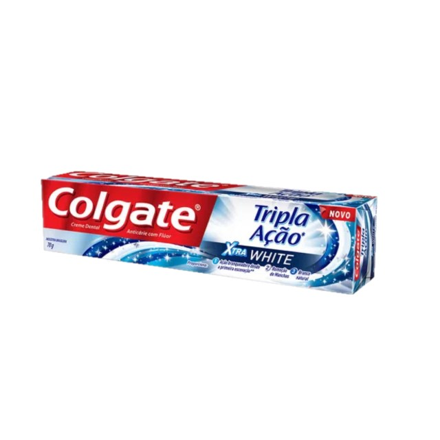 CREME DENTAL COLGATE TRIPLA EXTRA WHITE70G