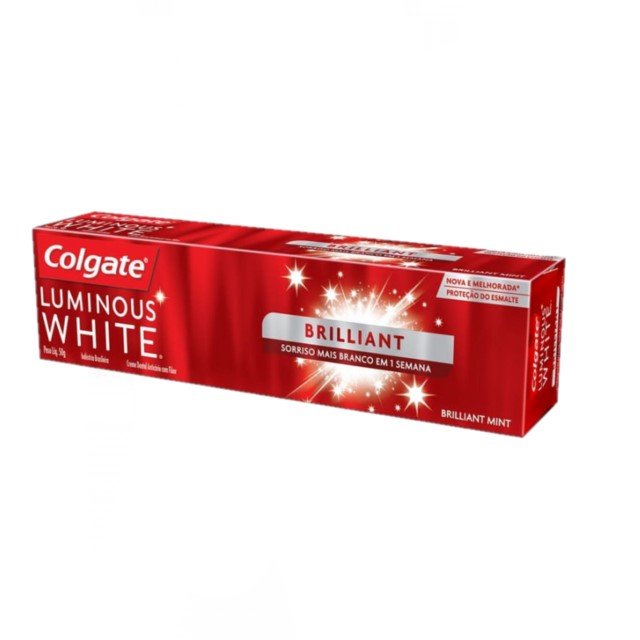 CREME DENTAL COLGATE LUMINOUS WHITE 50G