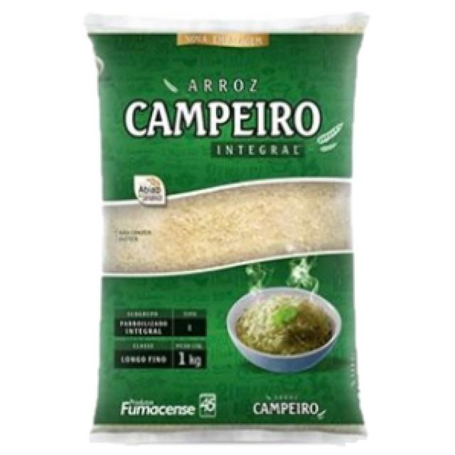 ARROZ INTEGRAL CAMPEIRO 1KG