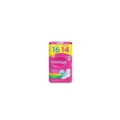 ABSORVENTE INTIMUS SECA C/ABAS L16P14