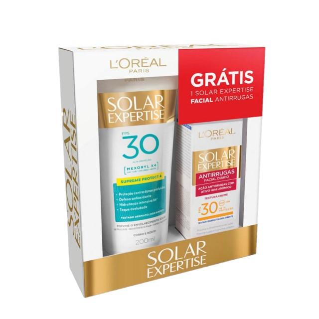 PROTETOR SOLAR LOREAL LOCAO FPS30 200ML+ANT25G