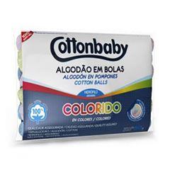 ALGODAO BOLA COTTONBABY COLORIDO 50G