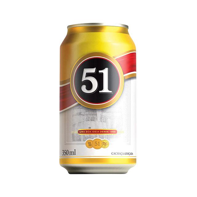 AGUARDENTE 51/ CACHAÇA LATA 350ML