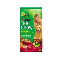 Ração Dog chow adulto raça média grande1kg