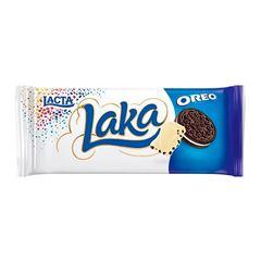 BARRA DE CHOCOLATE LACTA LAKA OREO 90G