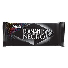 BARRA DE CHOCOLATE LACTA DIAMANTE NEGRO90G