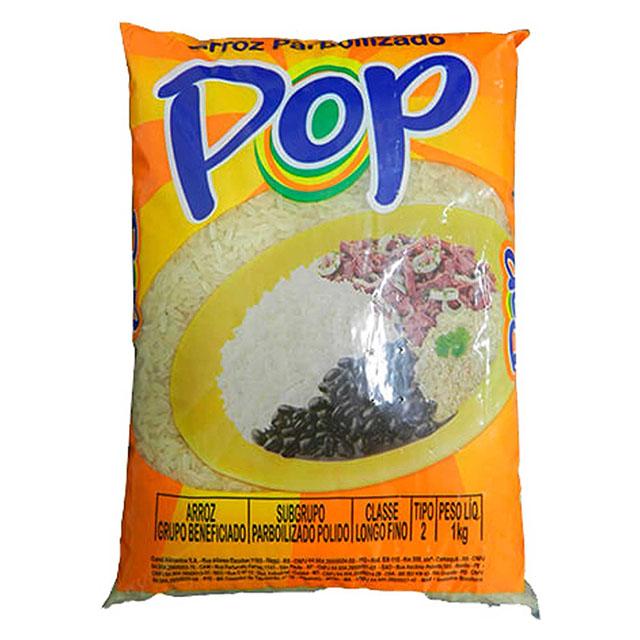 ARROZ PARBOILIZADO POP 1KG