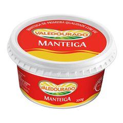 MANTEIGA COM SAL VALEDOURADO 200G