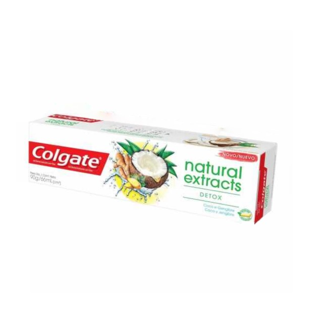 CREME DENTAL COLGATE EXTRACTS NAT DETOX90G