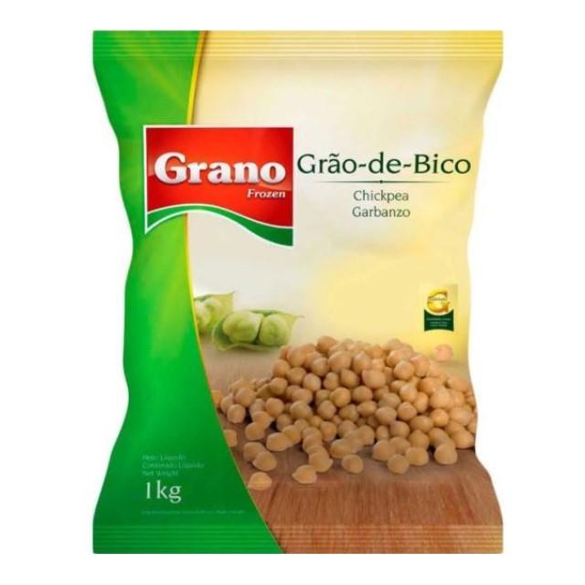 GRAO DE BICO CONGELADO GRANO 1KG