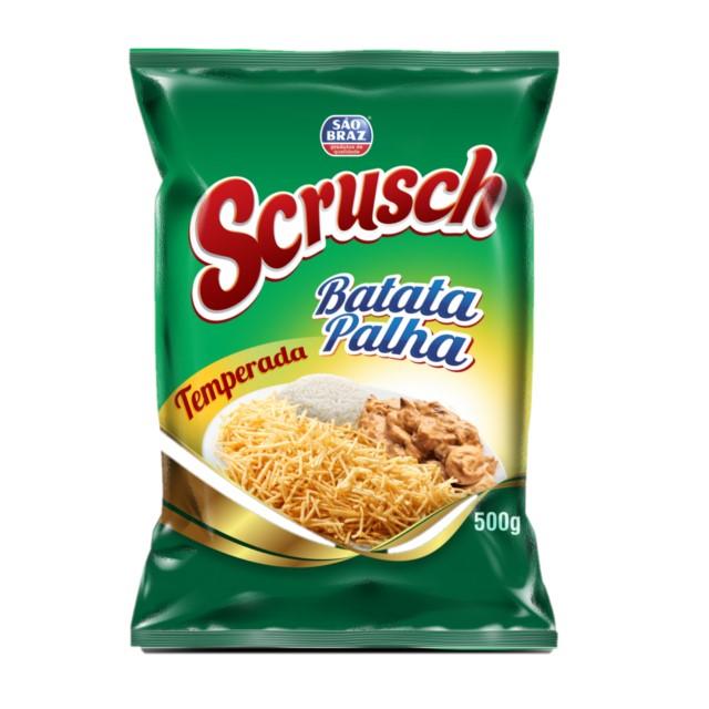 BATATA PALHA SCRUSCH TEMPERADA 500G