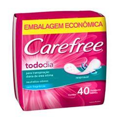 ABSORVENTE CARFREE PROT D TODO DIA C/40
