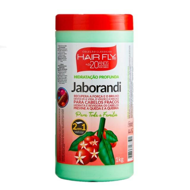 CREME TRATAMENTO HAIR FLY JABORANDI 1KG