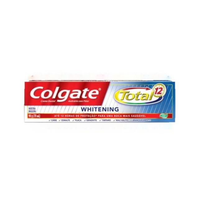 CREME DENTAL COLGATE TOTAL 12 WHITNING 90G