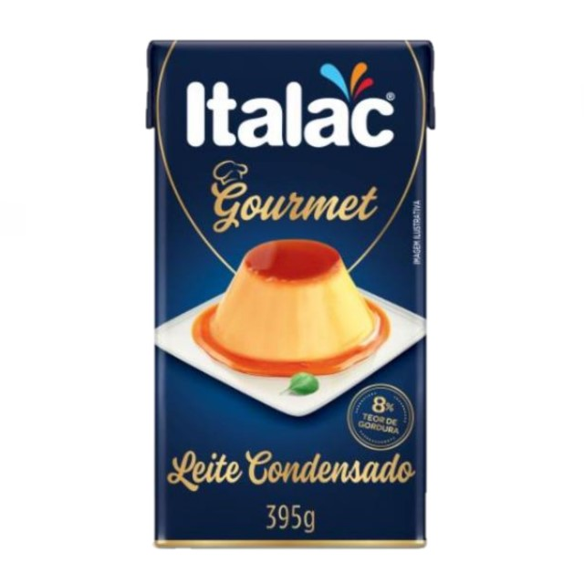 LEITE CONDENSADO ITALAC GOURMET 395G