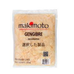 GENGIBRE FATIADO COM TEMPERO MAKIMOTO1 KG