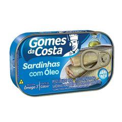 SARDINHA AO OLEO GOMES DA COSTA 125G